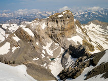 Pico del Cilindro, pic du Cylindre, Cylinder Peak Royalty Free Stock Images