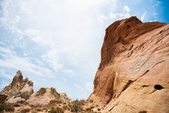 Pico del desierto Imagen de archivo libre de regalías