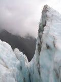 Pico del glaciar Imagen de archivo libre de regalías