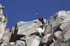 Pico del granito, Montana Imagen de archivo