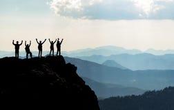 ¡Pico del logro! Fotos de archivo