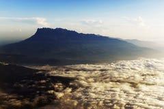 Pico del Monte Kinabalu Fotos de archivo libres de regalías