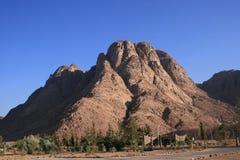 Pico del monte Sinaí foto de archivo libre de regalías