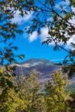 Pico del ³ n de Ocejà en Sierra de Ayllon, Guadalajara, España Fotografía de archivo libre de regalías