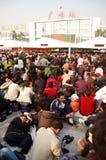 Pico del recorrido del festival de resorte de 2009 chinos Imagen de archivo