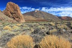 Pico del teide 免版税库存图片