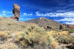 Pico del teide Arkivfoton