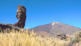 Pico del teide stock video