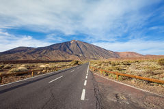 Pico del Teide Royalty Free Stock Photography