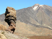 Pico del Teide photo stock