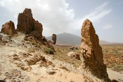 Pico del Teide royalty-vrije stock foto's