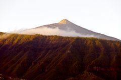 Pico del Teide Royalty Free Stock Photography