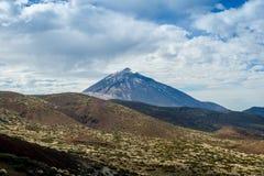 Pico del Teide sikt Royaltyfri Bild