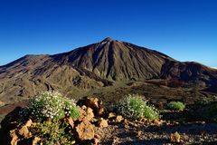 Pico del Teide, Spain's highest peak, Tenerife Stock Photo