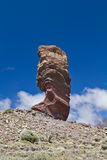 Pico del Teide, Tenerife, hoogste berg van Spanje Tenerife, Canarische Eilanden stock afbeelding