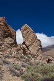 Pico del Teide, Tenerife, hoogste berg van Spanje Tenerife, Canarische Eilanden stock foto's