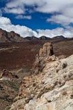 Pico del Teide, Tenerife, hoogste berg van Spanje Tenerife, Canarische Eilanden stock fotografie