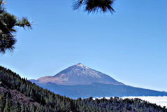 The Pico del Teide on Tenerife Stock Images