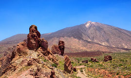 Pico del Teide, Tenerife, Spain Stock Images