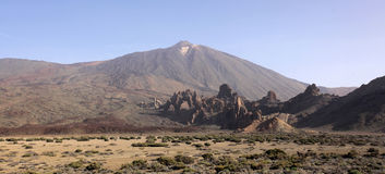 Pico del Teide volcano Royalty Free Stock Photo