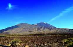 Pico del Teide volcano 2 Royalty Free Stock Images