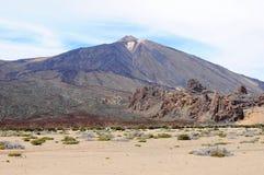 Pico del Teide Vulcano Royalty-vrije Stock Foto