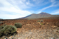 Pico del Teide Vulcano Royalty-vrije Stock Afbeelding