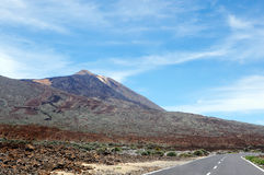 Pico del Teide Vulcano Stock Foto