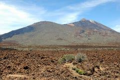 Pico del Teide Vulcano Fotografie Stock Libere da Diritti