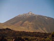 Pico del volcán Teide Imagen de archivo libre de regalías