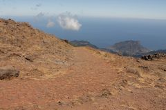 Pico do Areeiro mountain Royalty Free Stock Photography