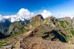 Pico do Arieiro άποψη, Μαδέρα Στοκ φωτογραφία με δικαίωμα ελεύθερης χρήσης