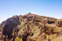 Pico do Arieiro, Μαδέρα Στοκ εικόνες με δικαίωμα ελεύθερης χρήσης
