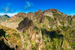 Pico do Arieiro τοπίο Στοκ Φωτογραφίες