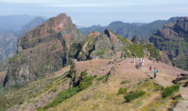 Pico do Arieiro Royalty Free Stock Photography