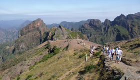 Pico do Arieiro Stock Image