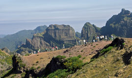 Pico do Arieiro Royalty Free Stock Image