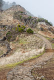 Pico do Arieiro in Madeira Island, Portuga Royalty Free Stock Images