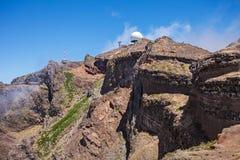Pico do Arieiro, Madeira Royalty Free Stock Photography