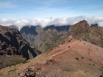 Pico do Arieiro. Mountains on the island of Madeira, Portugal Stock Images