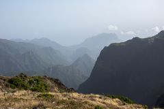 Pico Do Ariero Mountains στοκ φωτογραφία με δικαίωμα ελεύθερης χρήσης
