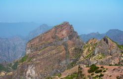 Pico Do Ariero Mountains στοκ εικόνα