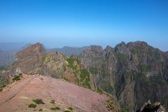 Pico Do Ariero Mountains Fotografie Stock