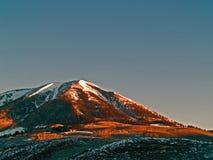 Pico do carbono Imagem de Stock Royalty Free