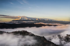 Pico do nascer do sol Imagem de Stock Royalty Free