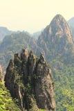 Pico do Penholder do pico da cremalheira de HuangshanPen Fotos de Stock