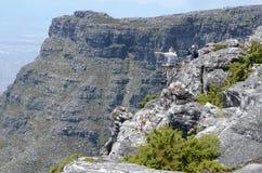 Pico do ` s do diabo da montanha da tabela, Cape Town Imagens de Stock