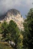 Pico dolomítico: Cima Uomo Fotos de Stock Royalty Free