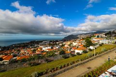 Pico dos Barcelos, Funchal, Madeira Royalty Free Stock Photography