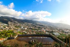 Pico dos Barcelos, Funchal, Madeira Royalty Free Stock Image